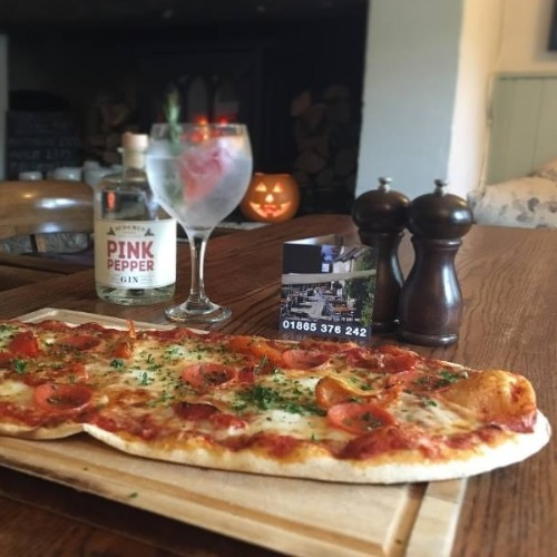 Food and wine stonebaked pizza