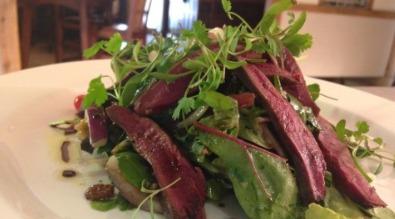 Sample menu salad