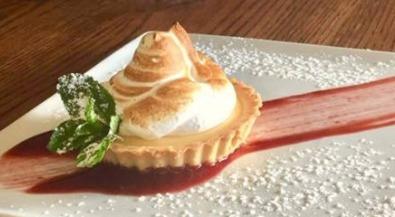 Sample menu meringue