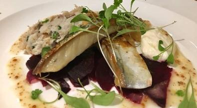 Sample menu fish